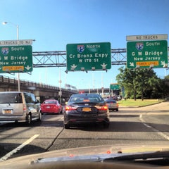 Photo taken at Cross Bronx Expressway (I-95) by King-Christopher J. on 7/21/2012