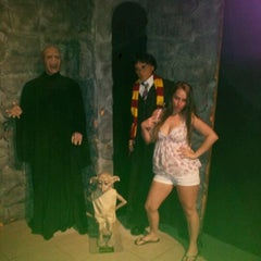 Photo taken at Potter's Wax Museum by Crissy W. on 3/31/2012