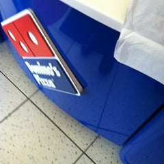 Photo taken at Domino's by Patricia Y. on 4/24/2012