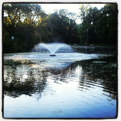 Photo taken at St. Vital Park by Vanessa N. on 6/25/2012