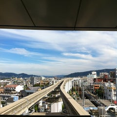 Photo taken at 大阪モノレール 蛍池駅 (Hotarugaike Sta.) by coppe333 on 8/27/2012
