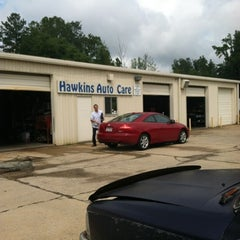 Photo taken at Hawkins Auto Care by Stephanie on 8/20/2012