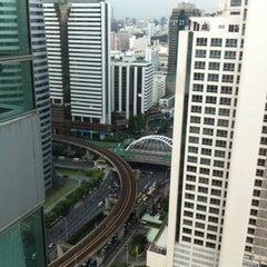 Photo taken at Ascott Sathorn Bangkok by Nui R. on 9/10/2012