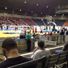 Photo taken at Taft Coliseum by Donna B. on 3/14/2012