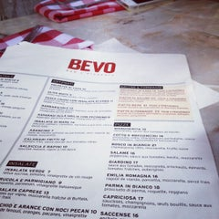 Photo taken at BEVO Bar + Pizzeria by Frédéric D. on 6/21/2012