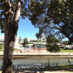 Photo taken at Praia Clube by Juliana C. on 8/17/2012