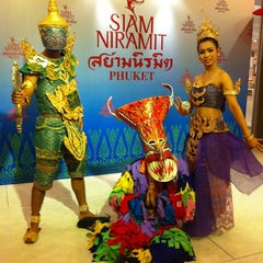 Photo taken at Siam Niramit Phuket (สยามนิรมิต) by May C. on 8/20/2012