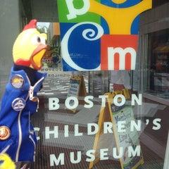 Photo taken at Boston Children's Museum by Camilla C. on 8/12/2012