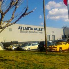 Photo taken at Michael C. Carlos Dance Centre - Atlanta Ballet by Misha PinksugarAtlanta S. on 3/14/2012