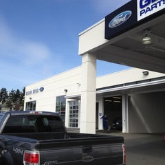 Photo taken at Brown Bros Ford Lincoln by Ian N. on 4/9/2012