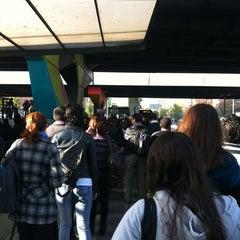 Photo taken at Paradero PC876 (Parada 5) by Nicole V. on 5/3/2012