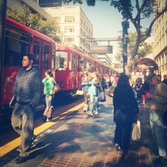Photo taken at 5th Ave Trolley Station by Maria P. on 6/16/2012
