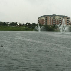Photo taken at Lake outside of Publix by Maurice W. on 8/5/2012
