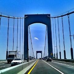Photo taken at Throgs Neck Bridge by Milton on 6/30/2012