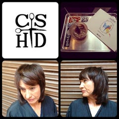Photo taken at Christina Sanchez Hair Design @ gods&heros salon by Christina on 8/23/2012