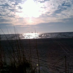 Photo taken at Coquina Beach by Curtis M. on 2/8/2012