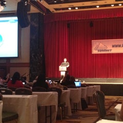 Photo taken at Affiliate Summit East 2012 by Nagore D. on 8/14/2012