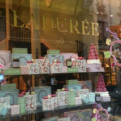Photo taken at Ladurée by Mika on 5/25/2012