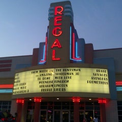 Photo taken at Regal Cinemas Shiloh Crossing 18 by Allan M. on 7/7/2012