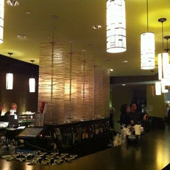 Photo taken at Rise Sushi Lounge by DishTrip on 2/12/2012