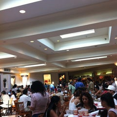 Photo taken at Westfield Montgomery Mall Food Court by ChefTony M. on 6/30/2012