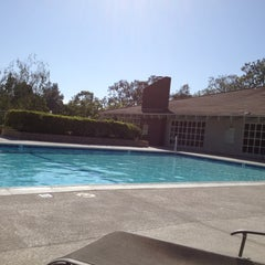Photo taken at Laguna Village Clubhouse Pool by Adam D. on 6/1/2012