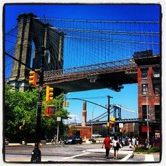 Photo taken at Under The Brooklyn Bridge by Brian B. on 7/8/2012