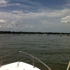 Photo taken at Beaufort Sandbar by Dodd on 7/21/2012