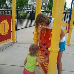 Photo taken at Zachary's Playground - Hawk Ridge Park by Rachel B. on 7/13/2012