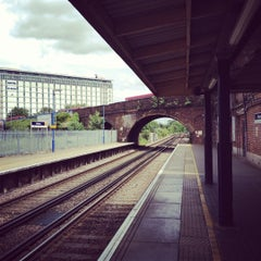 Photo taken at Feltham Railway Station (FEL) by Michael A. on 6/9/2012