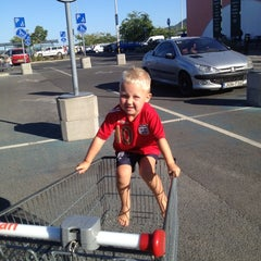 Photo taken at Auchan Pilis by Ferenc S. on 8/7/2012