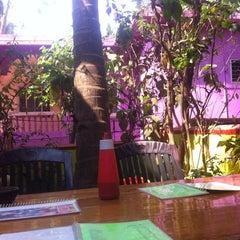 Photo taken at Domnic Juice Bar by Christina W. on 3/15/2012