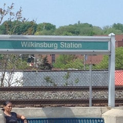 Photo taken at Wilkinsburg Station by Stephen M. on 5/3/2012