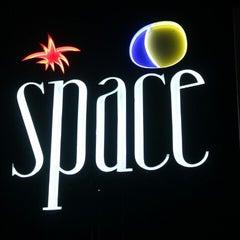 Photo taken at Space Beach Club by Klausz B. on 9/6/2012