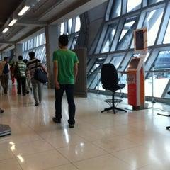 Photo taken at Gate F1 by Yupi Y. on 8/13/2012