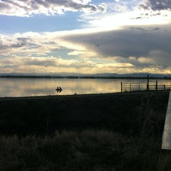 Photo taken at Barr Lake Boat Launch by Devin A. on 4/24/2012