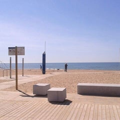 Photo taken at Platja del Prat by Rafa on 5/10/2012