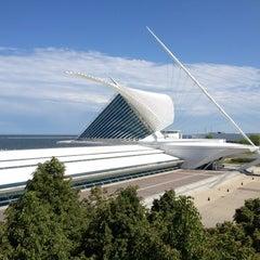 Photo taken at Milwaukee Art Museum by Ayuko on 5/25/2012