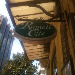 Photo taken at Rumeli Cafe by Seyma on 7/27/2012