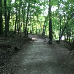 Photo taken at Frick Park by Ian E. on 6/20/2012