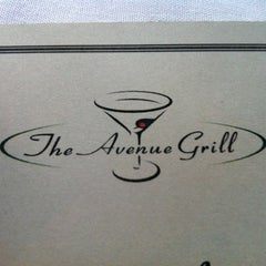 Photo taken at Avenue Grill by Patrick P. on 5/9/2012