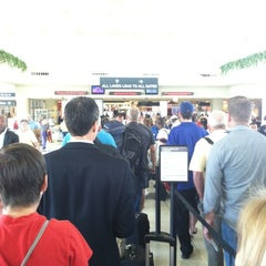 Photo taken at TSA Security Checkpoint by Loren W. on 6/13/2012