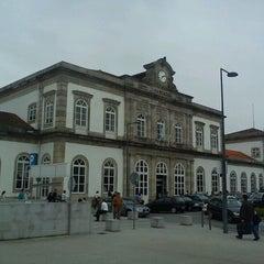 Photo taken at Estação Ferroviária de Porto-Campanhã by Miguel A. on 5/11/2012