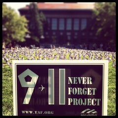 Photo taken at University of Michigan by Marco Túlio P. on 9/11/2012