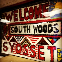 Photo taken at South Woods Middle School by Syosset P. on 9/4/2012