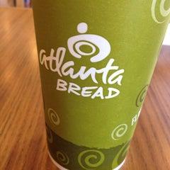 Photo taken at Atlanta Bread Company Cafe by Mindy K. on 4/13/2012