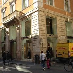 Photo taken at Salvatore Ferragamo by Stefan T. on 2/24/2012