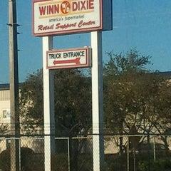 Photo taken at Winn-dixie Distribution Center by Legendary on 2/29/2012