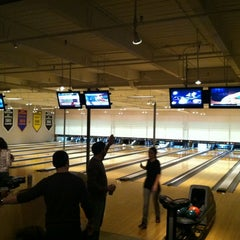 Photo taken at Bayside Bowl by David A. on 2/10/2012