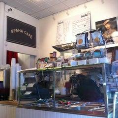 Photo taken at SpaHa Cafe by Kotaro H. on 4/23/2012